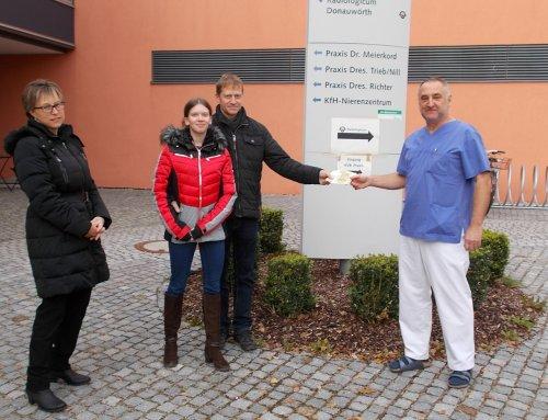 1000 Euro für die Palliativstation im Stiftungskrankenhaus