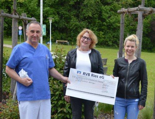 Insgesamt rund 30.000 Euro für die Palliativstation gespendet