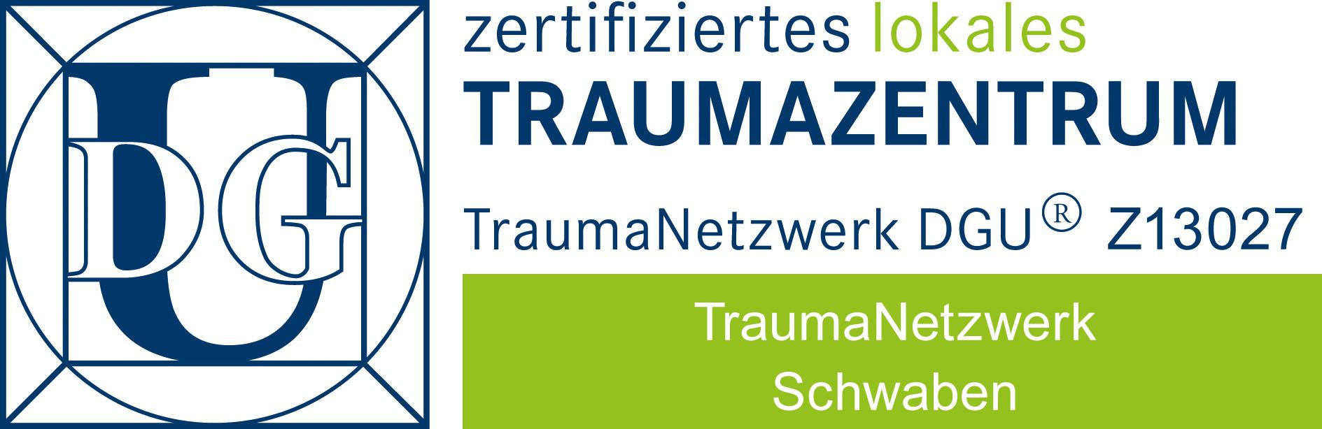 Traumazentrum Donauwörth Zertifikat